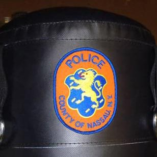 Nassau County Police Department - Custom Patch Sewn on KO Fightgear Heavy Bag