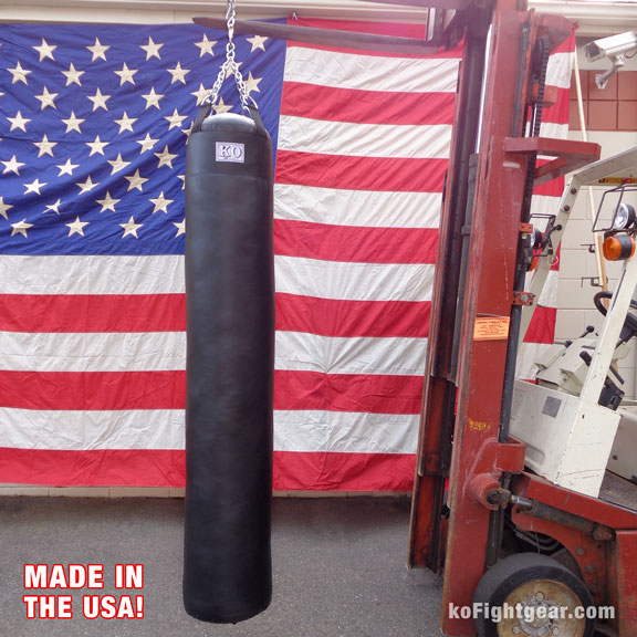 Ko Fightgear Muay Thai Heavy Bag Multiple Viewing Angles