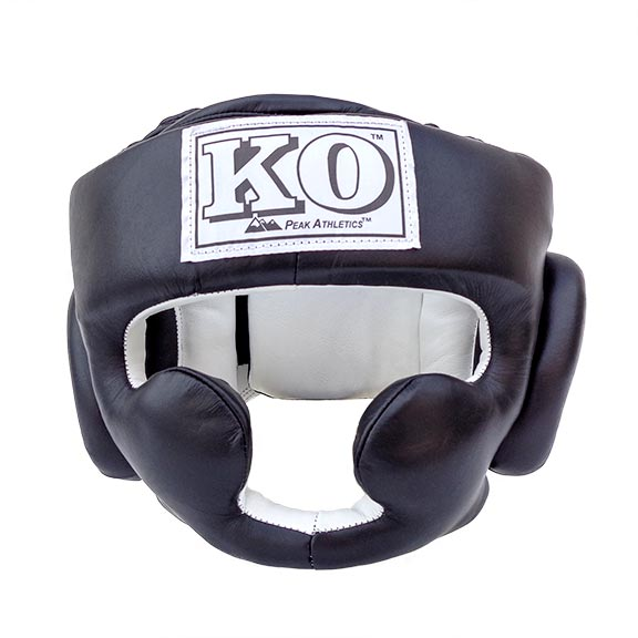 Full Face Protective Sparring Headgear - Detail - Multiple Angles - Front, Back, Top, Bottom, Side